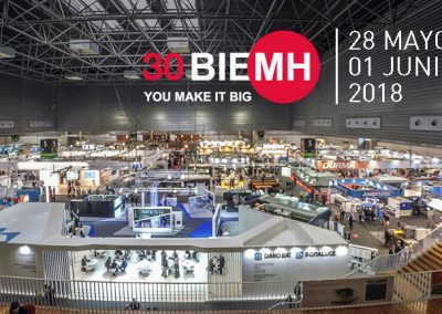 VERNIS MOTORS PARTICIPATES IN BIEMH TRADE FAIR OF  BILBAO (SPAIN)