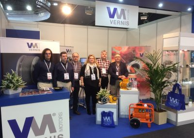 June 2018: SUCCESSFUL PARTICIPATION OF VERNIS MOTORS AT THE BIEMH FAIR OF BILBAO